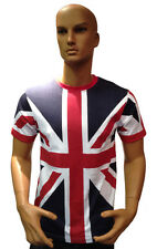 Tour Collection Union Jack Flag T-Shirts London 2015 Team GB Mens Clothing Top