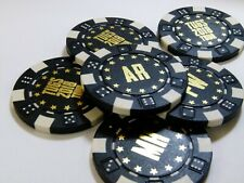 Personalised Poker / Casino Chip - wedding favour includes any / custom designs