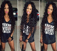 Mid Part Brazilian Human Hair Full Lace Wig Lace Front Wig Baby Hair Tangle Free