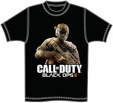 GAME ICONZ CALL OF DUTY BLACK OPS II TEE SHIRT COD 2 PS3 XBOX PS4 GAMER TAG