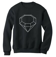 White Diamond Sweatshirt Wasted Youth Cali Kings Fresh Trill Crew Jumper