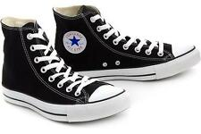BRAND NEW UNISEX ADULT CONVERSE ALL STAR CHUCK TAYLORS HI TOPS (BLACK) RRP:$90
