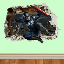 Marvel various design WALL SMASH Childrens wall art sticker wall vinyl 3D art