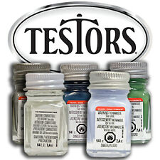 Testors Enamel 1/4 oz Paint Bottles Mix & Match Variety Model Kit Car Scale Boat