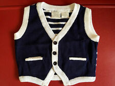 KOALA BABY Boys Children Kids Cool Handsome Knitted warm Casual Spring Vest