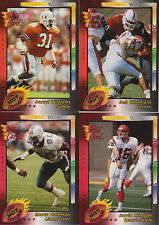 1992 Wild Card Red Hot Rookies Gold Complete Your Set
