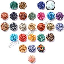 Wholesale Pick Natural Gemstone Round Spacer Loose Beads 4MM 6MM 8MM 10MM 12MM