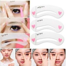 Pop Eyebrow Grooming Shaping Drawing Card Template Dashing Brow Make-Up Stencil