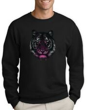 Tiger Sweatshirt Dripping Cool Birthday Gift Idea Holiday Crewneck Top Crew Tee