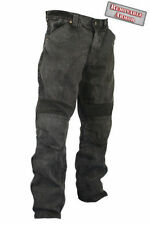 Xelement Mens Classic Fit Black Denim Jeans Armored Motorcycle Pants