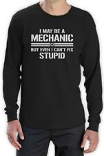 Mechanic Fix Everything Long Sleeve T-Shirt Diesel Funny Birthday Father's Day