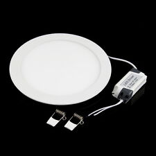 21W LED Recessed Ceiling Panel Down Light Bulb Lamp Round Pure/Warm White DX