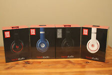 NEW SEALED Beats Studio 2.0 By Dr. Dre Wired Headphones RemoteTalk Rechargeable