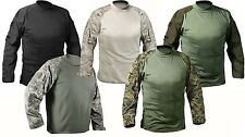Moisture Wicking Military Army Combat Shirt Airsoft Paintball T-shirt 10 Colors