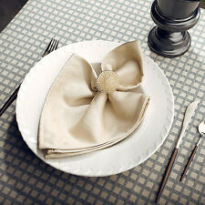 Flower Shape Napkin Ring Wedding Bridal Napkin Serviette Holder Dinner Decor NEW