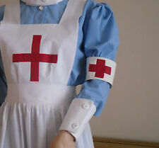 WW1 WW2 RED CROSS NURSE ARM BAND COTTON