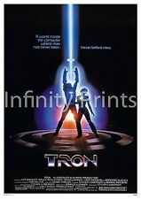 Tron 1982 Movie Film Poster A2 A3 A4