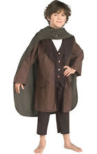 LICENSED CHILD BOYS FRODO LORD OF THE RINGS FANCY DRESS HALLOWEEN COSTUME