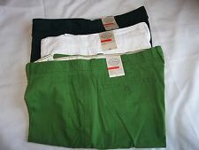 """Mens St John's Bay Legacy Flat Front Short 10""""inseam Pick Color & Size 40-42 NEW"""