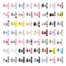 NAIL WRAPS STICKERS - Full Self DIY Adhesive Polish Foils Decoration Art Decals