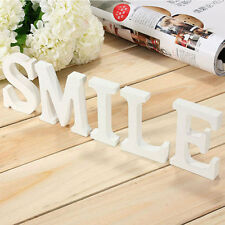 Pop Wooden Wood Letter Alphabet Word Free Standing Wedding Party Home Decoration