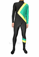Fancy Dress Party Cool Runnings Jamaican Bobsled Team Costume S-XXL