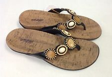 Vionic Orthaheel Fiji Thong Sandals w/ Arch Support NEW