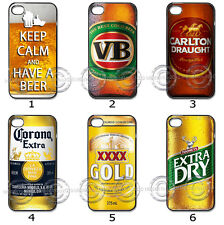 iPhone Samsung Hard CASE Phone COVER Beer Bottle Mens Drinks Collection M17