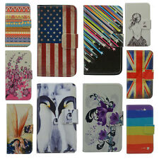 For HTC case Wallet Card DELUXE leather cartoon cute Cover