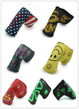 New Fashion Styles Golf Putter Covers Headcover For Titleist Callaway Taylormade