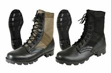"""Jungle Boots 8"""" Military Style GI Leather Combat Army Boot Panama Sole 5081 5080"""