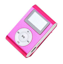 """Slim Mp3 Player 1.8"""" LCD Screen Recorder Support Micro SD/TF Card 2/4/8/16GB Use"""