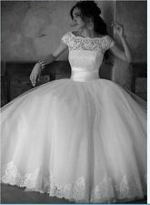 2015-2016 new white wedding dress in stock size 6 --16 ,good price/quality AAA99