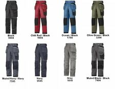 Snickers Workwear 3212 Duratwill Work Trousers With Holster Pockets