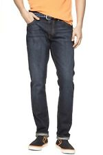 ex GAP 1969 Men Authentic Slim Fit Jeans - Premium Blue Wash