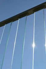 Wahoo Rail Glass Balusters - Tempered Glass Panels for Residential Construction