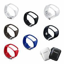 Genuine! Samsung SM-R750 Galaxy Gear S Cradle, Basic strap , Bangle type strap