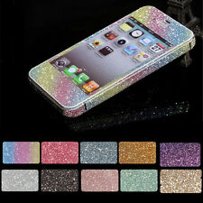 For iPhone 4 4s Diamond Bling Full Body Cover Wrap Skin Film Protect Stickers