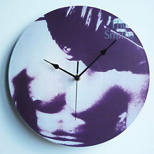 """The Smiths Collection - 12"""" LP Vinyl Record Clock from The Record's Ticking"""