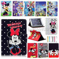 "Universal Cartoon Mickey Minnie PU Leather Case Cover For 7""~7.9"" Inch Tablet"