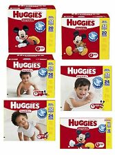 Huggies Snug & Dry Diapers Available in Size 1 2 3 4 5 6 New