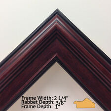 USA Quality Custom Wood Picture Frames - Large Sizes - Style#1024