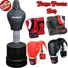 Free Standing Punch Bag Heavy Man Body Dummy Kick Boxing Gym Training MMA Torso