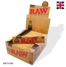 RAW Classic KING SIZE SLIM Tobacco Rolling Papers Smoking Kingsize Paper BOX