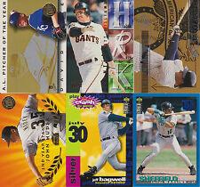 Additional 1995 Baseball Inserts From Various Sets