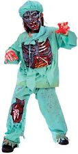 ZOMBIE DOCTOR Child Costume HALLOWEEN Scary Boys Outfit Undead Spooky