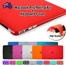 """Crystal Matte Hard Case Cover for Apple Macbook Air Pro Retina 11"""" 13"""" 15"""" inch"""