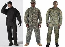 Army Combat Uniform Camouflage Rip Stop Made To Military Specs Rothco
