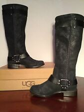 "Women's UGG Australia ""Dree"" Black & Brown Boots Size 5.5-10  Scuffed"