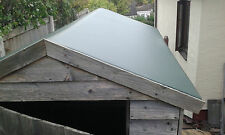 Strong alternative to shed roofing felt , uv resistant one piece reinforced pvc